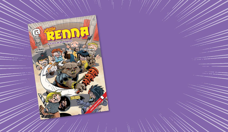 Slide inicio: Little Renna y el Circo de los Dragones 2