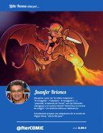 Contraportada - Little Renna y el circo de los dragones #2