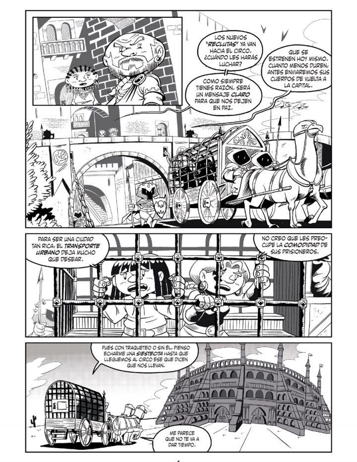 Página 1 - Little Renna y el circo de los dragones #2