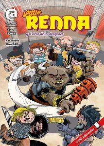Portada - Little Renna y el circo de los dragones #2