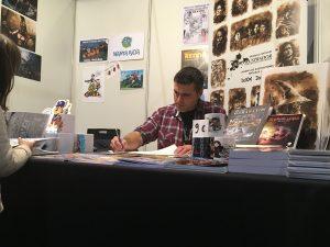 Salón del Cómic de Zaragoza 2016 - Firmas en el stand de afterCOMIC