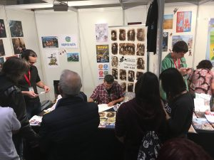 Salón del Cómic de Zaragoza 2016 - El stand de afterCOMIC