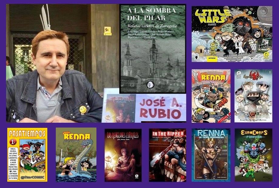 Firmas José Antonio Rubio - Sant Jordi 2018