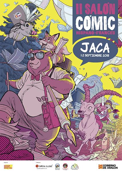 II Salón Hispanofrancés del Cómic de Jaca