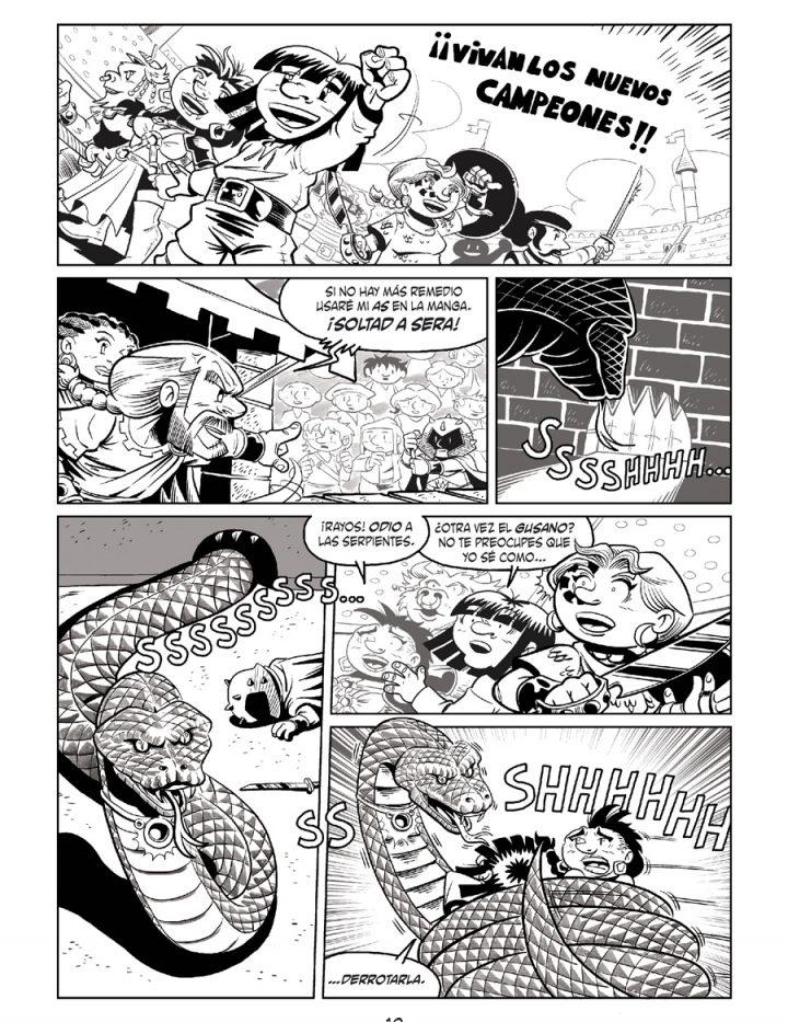 Página 10 - Little Renna y el circo de los dragones #3
